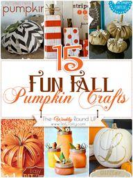 15 Fun DIY Fall Pump