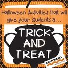 Halloween Activity -