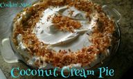 Coconut Cream Pie #S