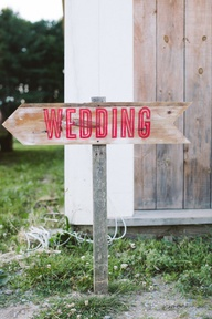 Lovely Wedding Signs