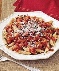 Whole-Wheat Penne wi