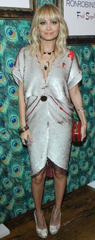 Nicole Richie -bohemian glam look  fabsugar.com