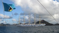 Sailing to St. Lucia