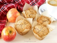 Apple Spice Muffins.