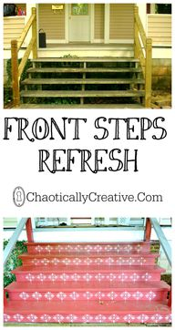 Front Steps Refresh