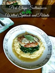 Pork Chops Saltimboc