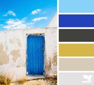 Blue Door - August 2