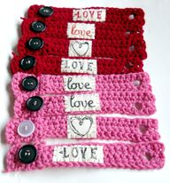 crocheted girls brac