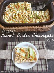 apple peanut butter