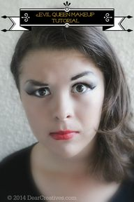Evil Queen Makeup Tu