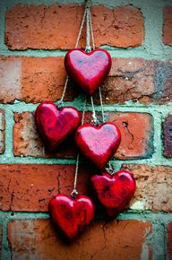 red-heart-on-a-brick
