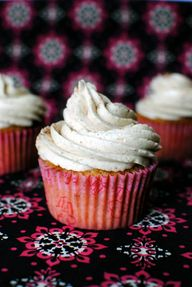 Vanilla Chai Cupcake