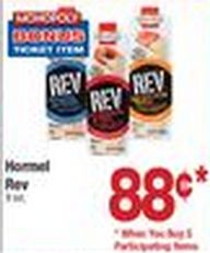 Hormel Rev just $.38