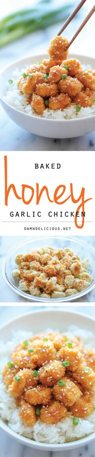 Baked Honey Garlic C