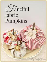 Fabric Pumpkins - Gi