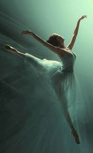 """When you dance, you"