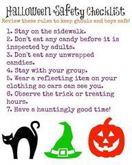 Free Halloween Safet