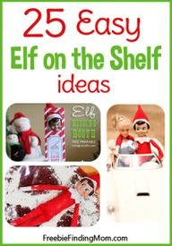 25 Easy Elf on the S