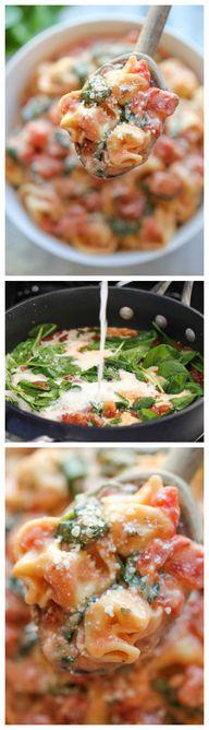 Spinach Tomato Torte