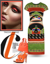 """TRIBAL CHIC FOR SPRING"" by margaretferreira ❤ liked on Polyvore"