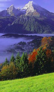 Berchtesgaden and Mo