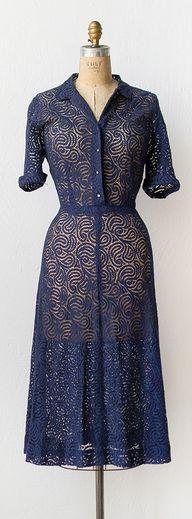 vintage 1940s lace d