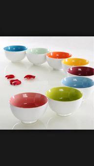 Ceramic bowls...