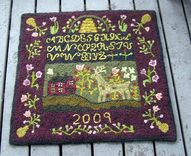 sampler rug. Really...