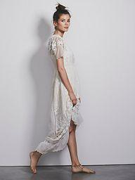 white tulip dress.