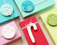 DIY: clay gift tags