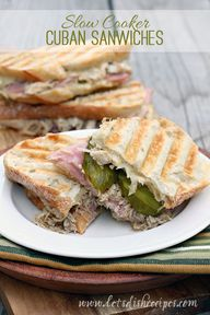 Cuban Sandwiches (Sl
