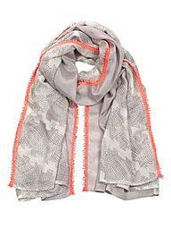 Sandi print scarf