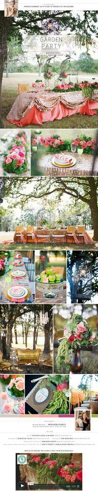 Garden Party wedding...