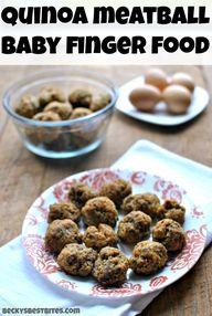 Quinoa Meatballs Bab...