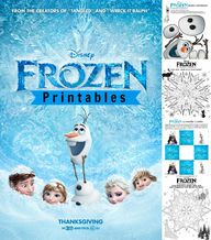 Disneys Frozen Print