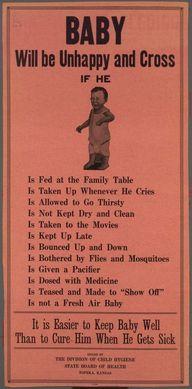 c. 1920: Baby will b
