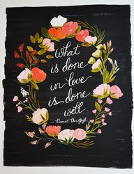 """What is done in lov"