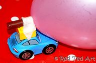 Cars balloon game