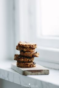 Oat cookies with nut
