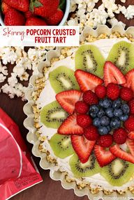 Easy popcorn fruit t