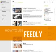 How to use Feedly as