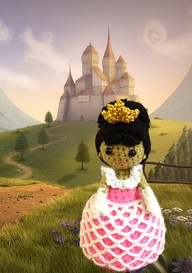 Ravelry: Crochet Amigurumi fairytale Princess pattern PDF pattern by Anupama Pradeep