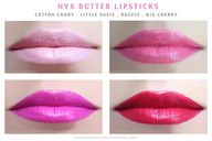NYX Butter Lipsticks