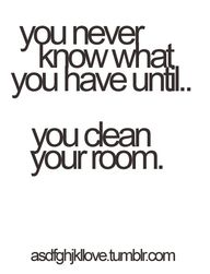 And closets too!