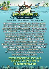 Jam Cruise 13 Lineup