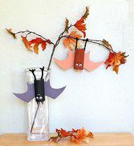 Hanging Bat Craft fo