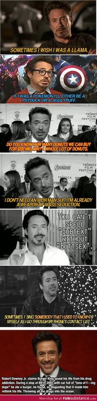 Love Robert Downey J