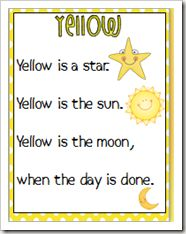 Color poems...hmmm..