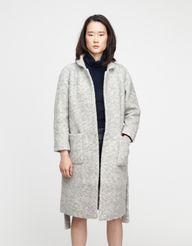 Teddy Wrap Coat