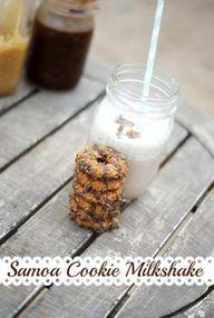 Samoa Cookie Milksha